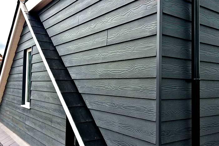 What Is Hardboard Siding black siding