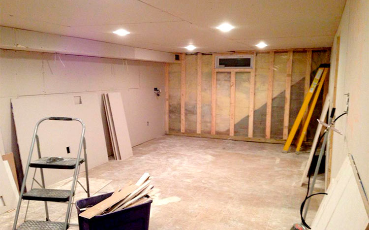 Cost To Drywall A Basement 2021 Price Guide
