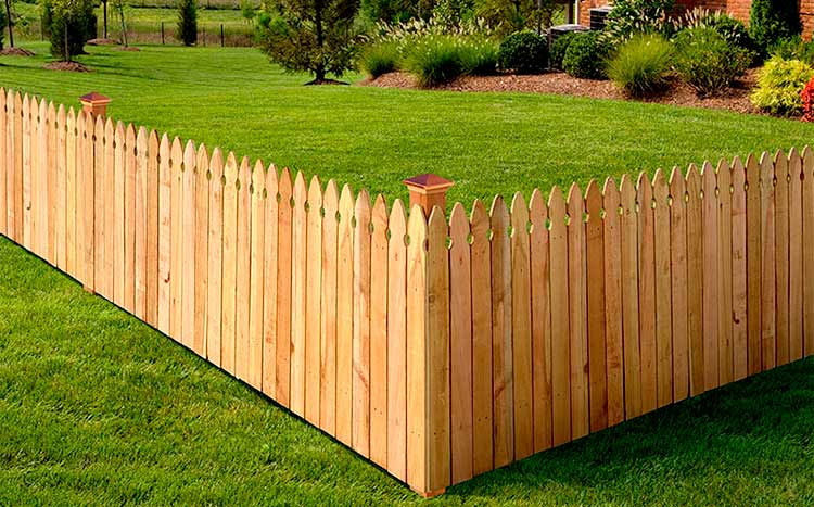Benefits of a wooden fence beautiful fence