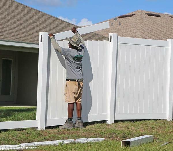 vinyl fence installer near me